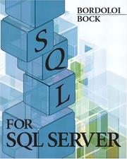Cover of: SQL for SQL Server | Bijoy Bordoloi