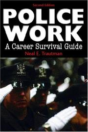 Cover of: Police Work | Neal E. Trautman