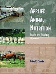 Applied Animal Nutrition by Peter R. Cheeke