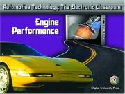 Cover of: Engine Performance (Automotive Technology: The Electronic Classroom)