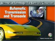 Cover of: Automatic Transmission and Transaxle (Automotive Technology: The Electronic Classroom)
