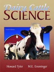 Cover of: Dairy Cattle Science (4th Edition) | Howard Tyler