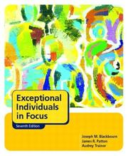 Cover of: Exceptional individuals in focus | J. M. Blackbourn