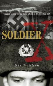 Cover of: Soldier X