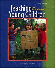 Cover of: Teaching Young Children