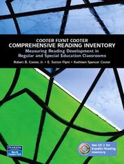Cover of: Cooter/Flynt/Cooter Comprehensive Reading Inventory | Robert B. Cooter