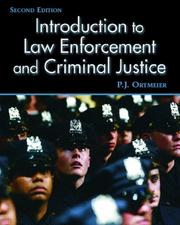 Cover of: Introduction to Law Enforcement and Criminal Justice