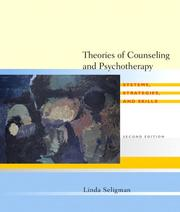 Cover of: Theories of Counseling and Psychotherapy