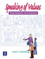 Cover of: Speaking of Values