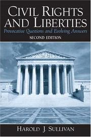 Cover of: Civil Rights and Liberties | Harold J. Sullivan