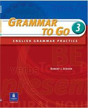 Cover of: Grammar to go: English grammar practice
