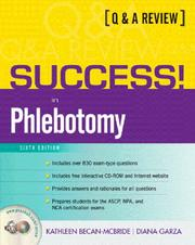 Cover of: Prentice Hall's Q & A review for phlebotomy