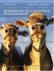 Cover of: Handbook of Livestock Management
