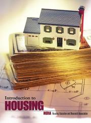 Cover of: Introduction to housing | edited by John L. Merrill ... [et al.].
