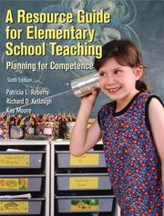 Cover of: Resource Guide for Elementary School Teaching, A