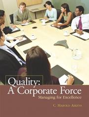 Cover of: Quality | C. Harold Aikens