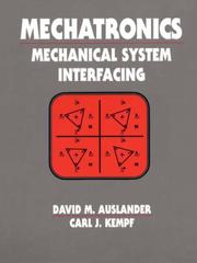 Cover of: Mechatronics | David M. Auslander