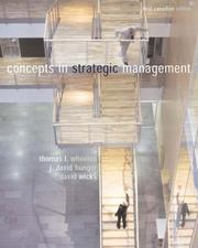 Cover of: Concepts In Strategic Management