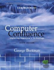 Cover of: Computer Confluence, Comprehensive and Student CD
