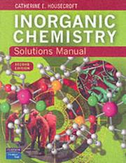 Cover of: Inorganic chemistry