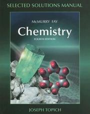 Cover of: Chemistry Selected Solutions Manual | Pearson