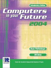 Cover of: Computers in your future 2004