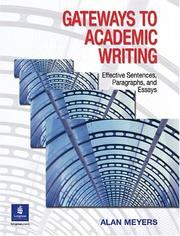 Cover of: Gateways to Academic Writing