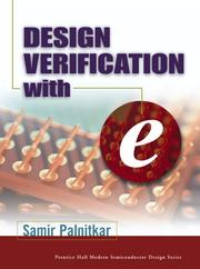 Cover of: Design Verification with e