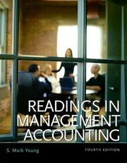 Cover of: Readings in Management Accounting (4th Edition) | S. Mark Young