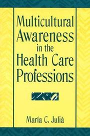 Cover of: Multicultural awareness in the health care professions |