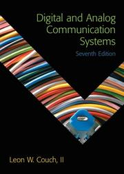 Cover of: Digital and analog communication systems