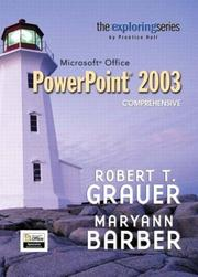 Cover of: Exploring Microsoft PowerPoint 2003 Comprehensive (The Exploring Office Series)