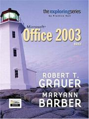 Cover of: Microsoft Office 2003, brief