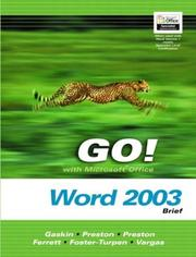 Cover of: Go! with Microsoft Office. | John M. Preston