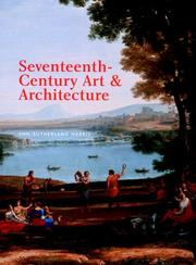 Cover of: Art and Architecture of the Seventeenth Century | Ann Sutherland Harris
