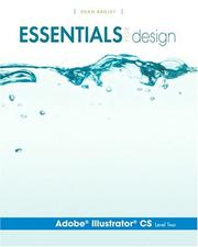 Cover of: Adobe Illustrator Cs, Level Two (Essentials for Design) | Dean Bagley