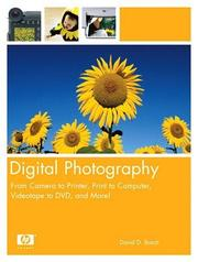 Cover of: Digital photography