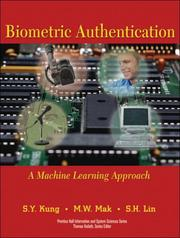 Cover of: Biometric Authentication | S.Y. Kung