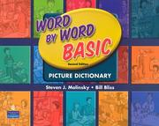 Cover of: Word by word basic picture dictionary: teacher's resource book and activity masters