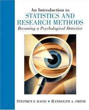 Cover of: Introduction to Statistics and Research Methods: Becoming a Psychological Detective, An
