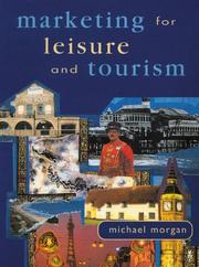Cover of: Marketing for leisure and tourism