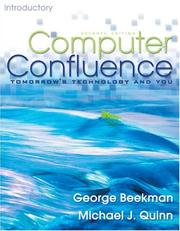 Cover of: Computer Confluence Introductory (7th Edition) | George Beekman