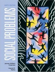 Social problems by James William Coleman