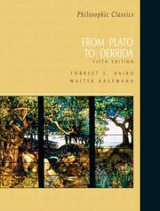Cover of: Philosophic Classics | Forrest E. Baird, Walter Kaufmann (undifferentiated)