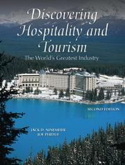 Discovering Hospitality and Tourism by Jack D. Ninemeier, Joseph Perdue