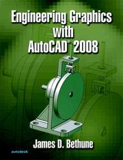 Cover of: Engineering Graphics w/AutoCAD 2008