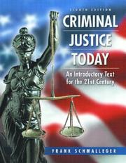 Cover of: Criminal Justice Today & Evaluating Online Resources Package