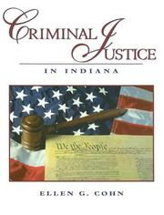 Cover of: Criminal Justice in Indiana