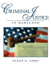 Cover of: Criminal Justice in Maryland