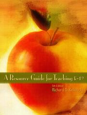 Cover of: Resource Guide for Teaching K-12, A